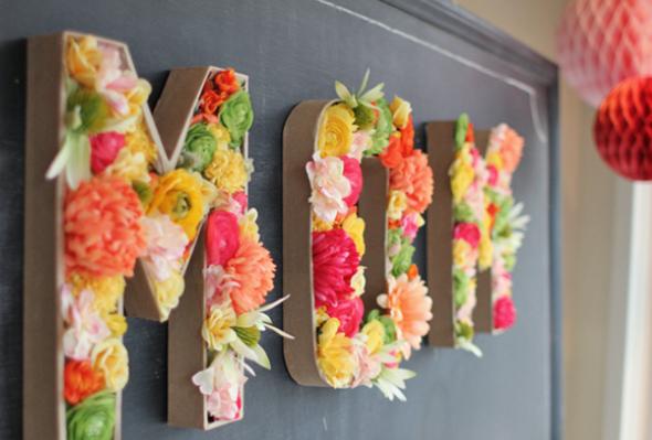 Objetos de papelão para decorar 014