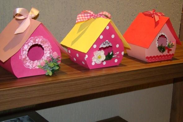 Objetos de papelão para decorar 016