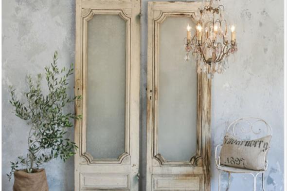 Portas antigas na decoração 001