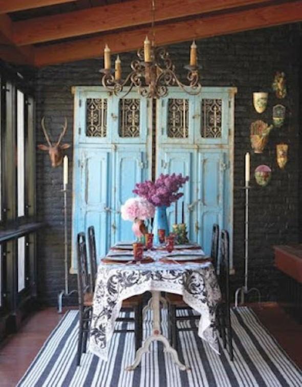 Portas antigas na decoração 002