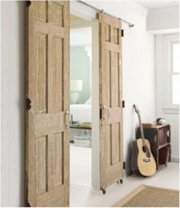 Portas antigas na decoração 006