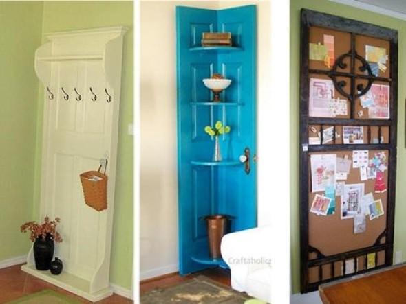 Portas antigas na decoração 010