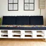 Sofás com paletes e madeira reciclável 001