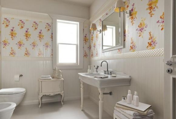 papel parede banheiro