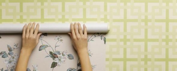 Como aplicar papel de parede em casa 002