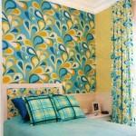 Como decorar paredes com tecido 001