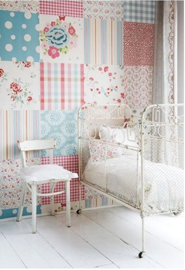 Como decorar paredes com tecido 006