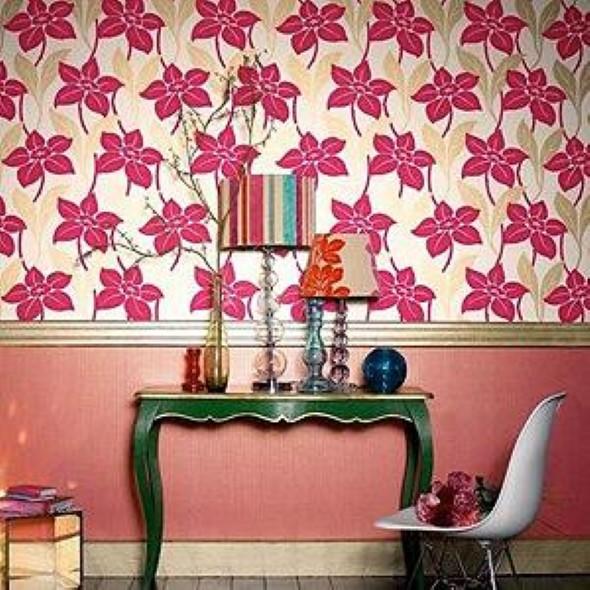 Como decorar paredes com tecido 010