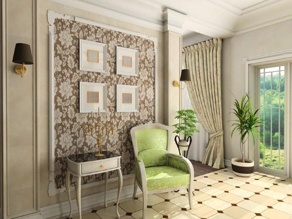 Como decorar paredes com tecido 016