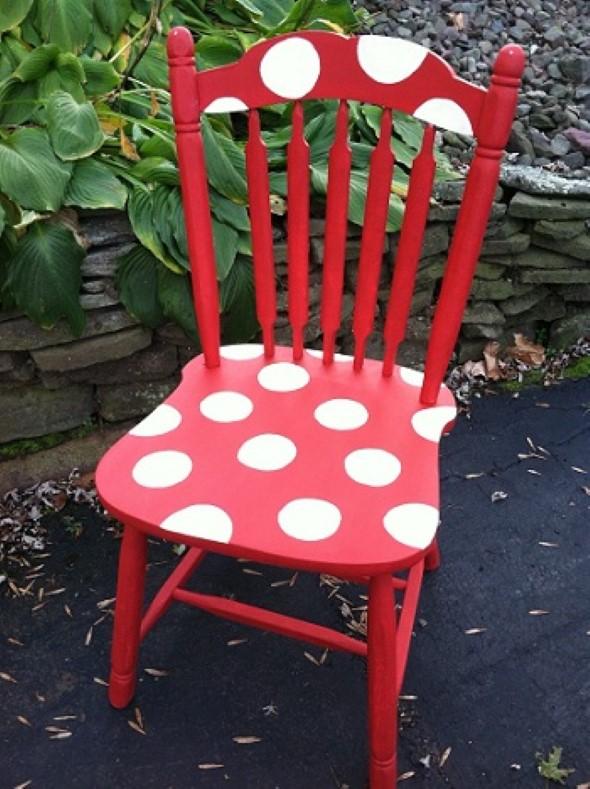 Como reformar cadeira velha para decoração 005