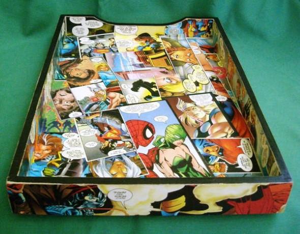 Decoração com história em quadrinhos 012