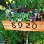 Números externos para decorar a casa 001
