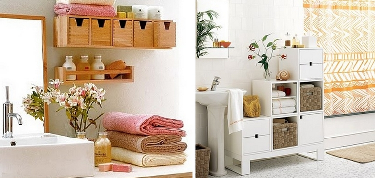 decorar bancada de banheiro