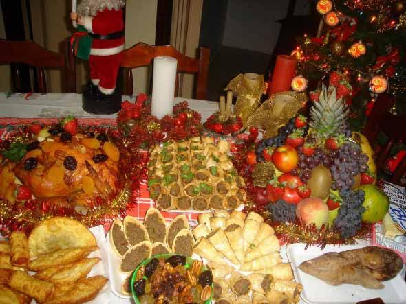 Decorar a mesa da ceia de Natal 009