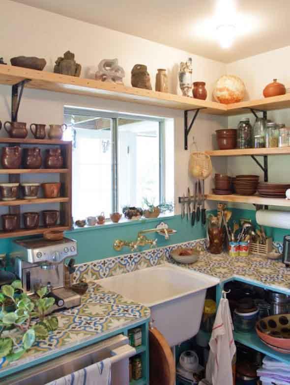 Decorar a pia da cozinha 014