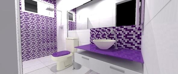 Decorar bancada do banheiro 010