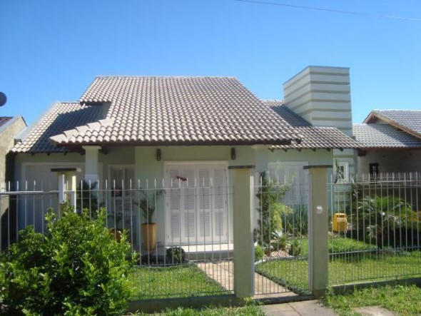 Fachadas de casas simples 001