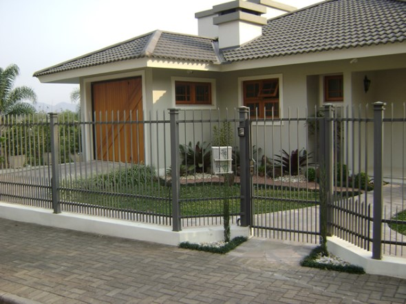 Fachadas de casas simples 003
