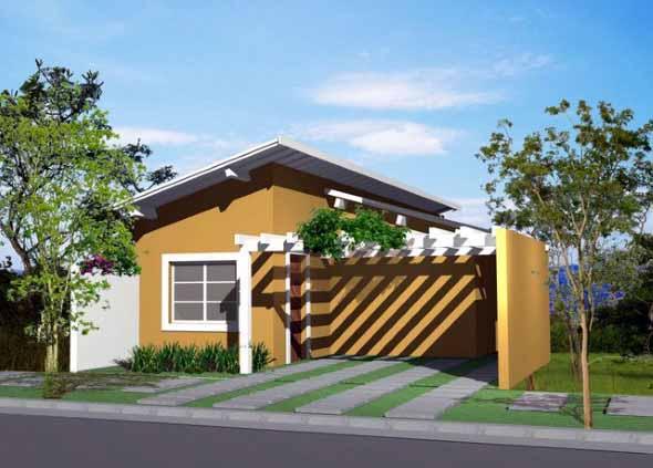 Fachadas de casas simples 013