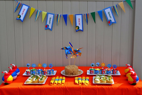 mesa de aniversário 1