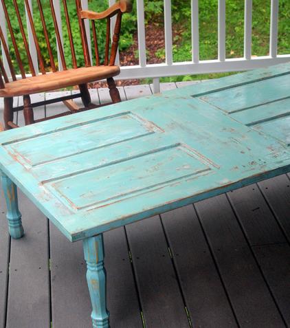 mesa de madeira usada