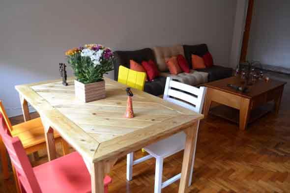 Criar uma mesa com madeira usada 002