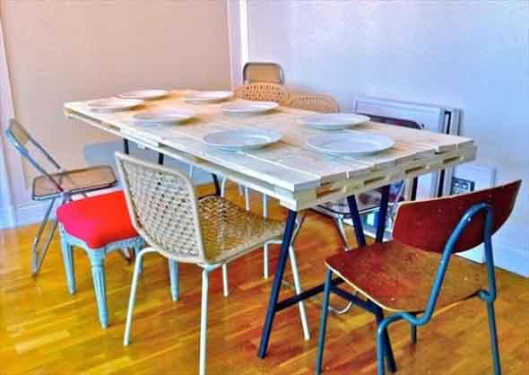 Criar uma mesa com madeira usada 003