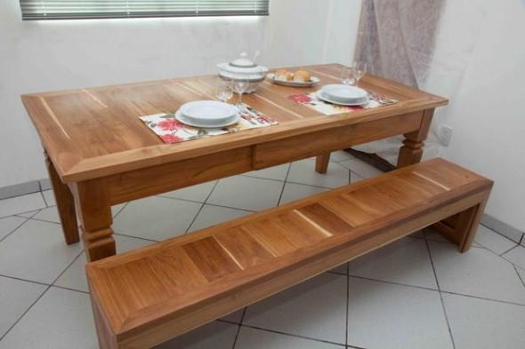 Criar uma mesa com madeira usada 007
