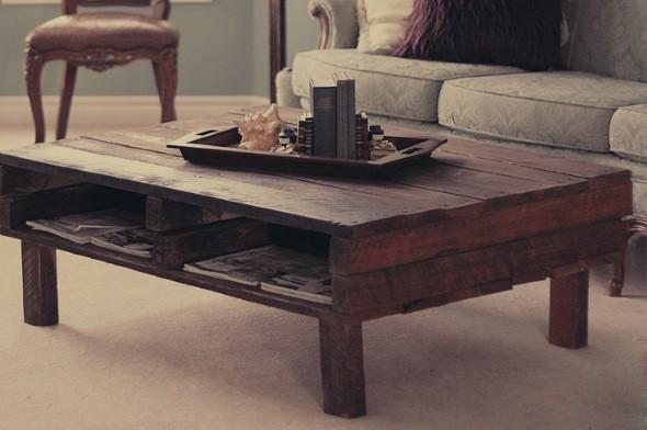 Criar uma mesa com madeira usada 011