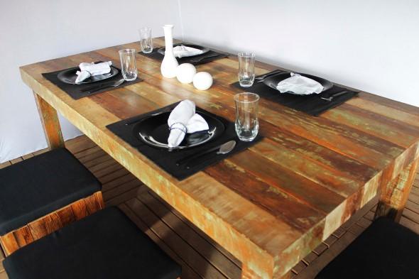 Criar uma mesa com madeira usada 013