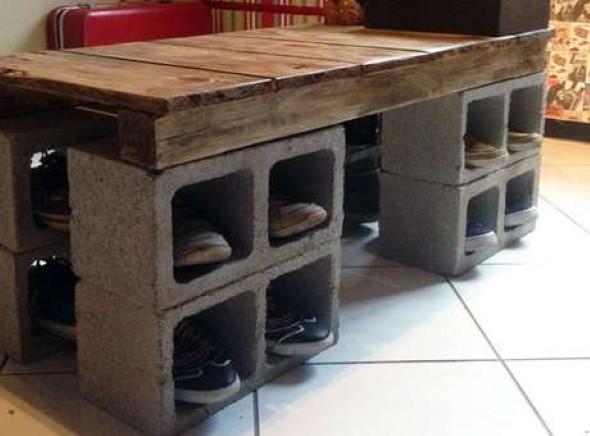 Criar uma mesa com madeira usada 015