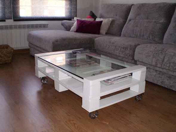 Criar uma mesa com madeira usada 017