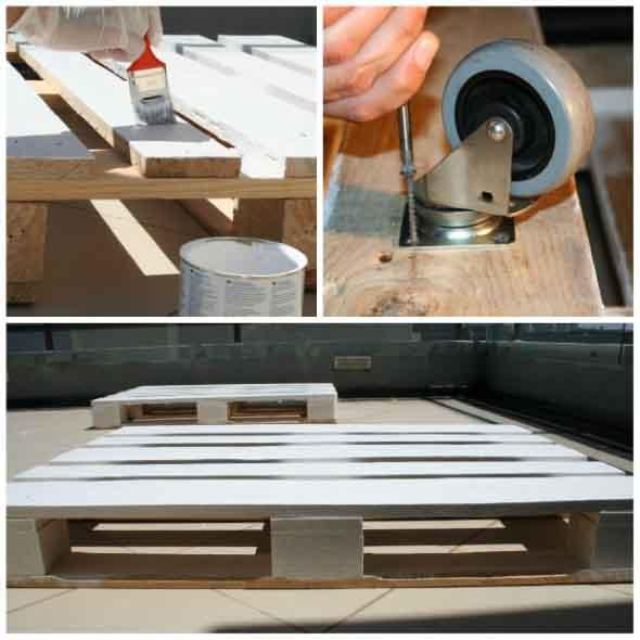 Criar uma mesa com madeira usada 018