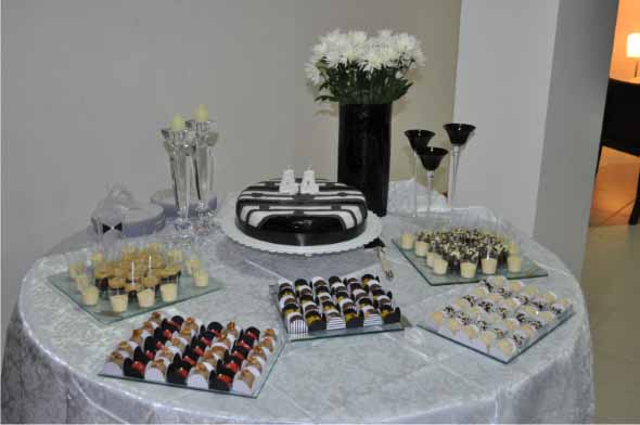 Decorar mesa de aniversário simples 011
