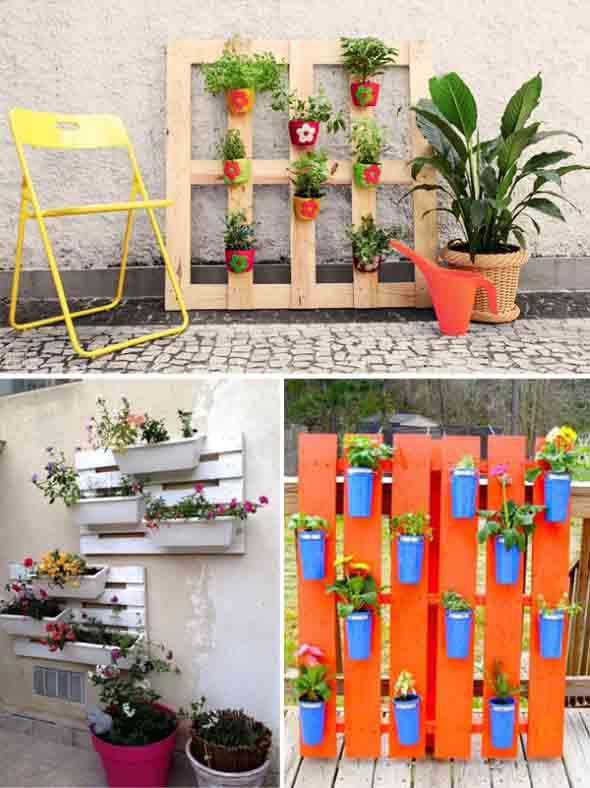 Enfeite para jardim reciclado 007