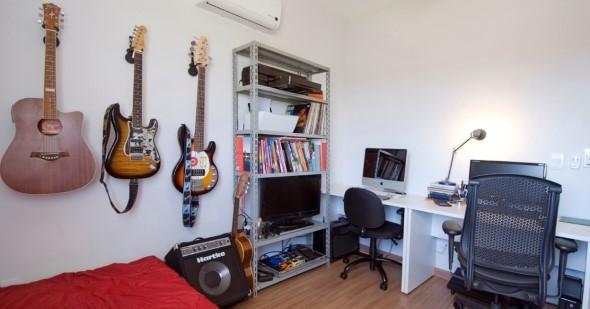 Mesa de trabalho dupla para escritório 001