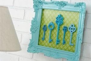 Transforme chaves velhas em objetos de decoração 001