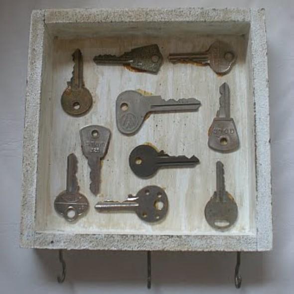 Transforme chaves velhas em objetos de decoração 004