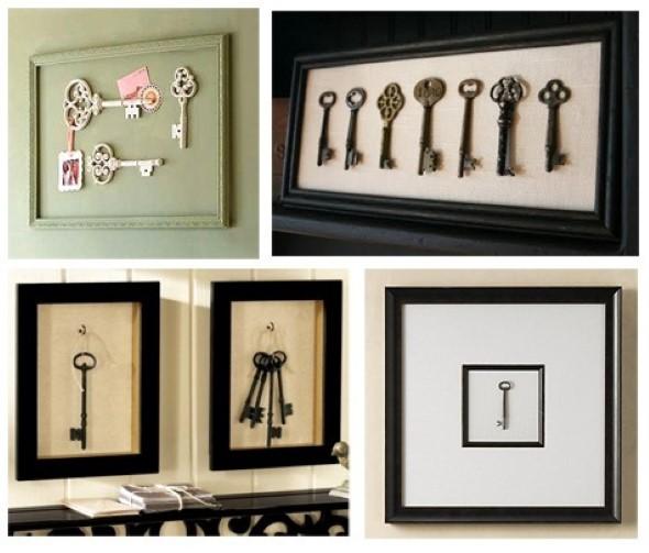 Transforme chaves velhas em objetos de decoração 006