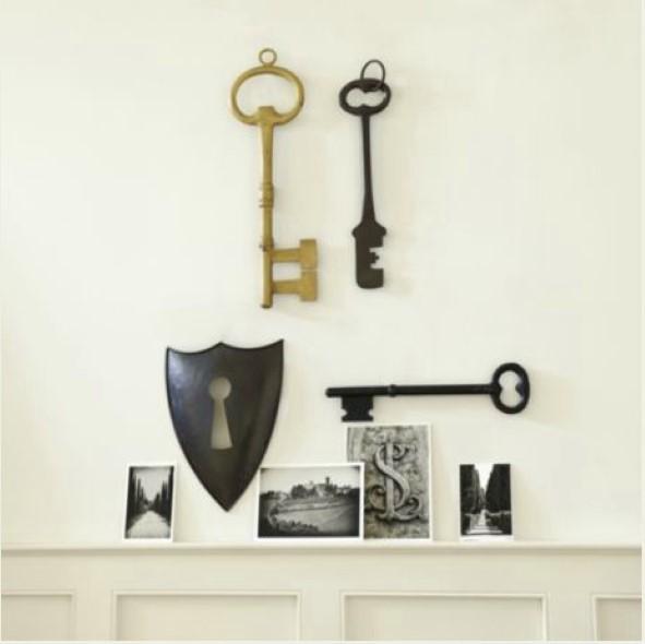 Transforme chaves velhas em objetos de decoração 014