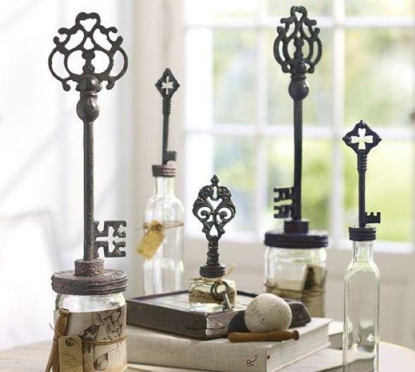 Transforme chaves velhas em objetos de decoração 015