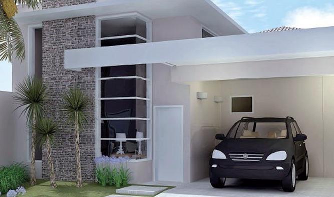 fachada de casa simples 3
