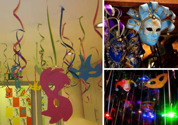 Decoração de carnaval 005