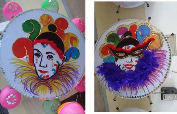 Decoração de carnaval 009