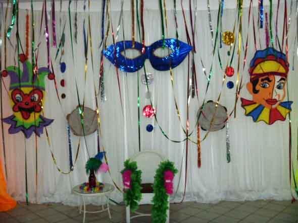 Decoração de carnaval 011