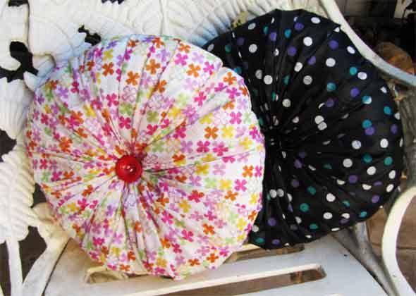 Montar capas para almofadas modernas 008