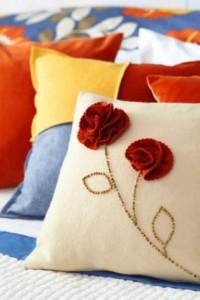 Montar capas para almofadas modernas 011