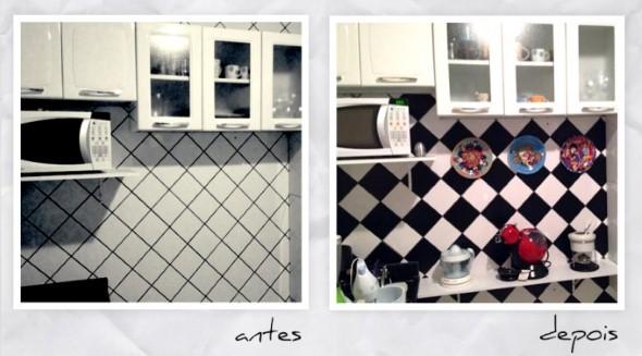Decorar e renovar a cozinha com papel contact 003