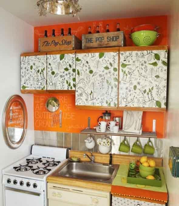 Decorar e renovar a cozinha com papel contact 009