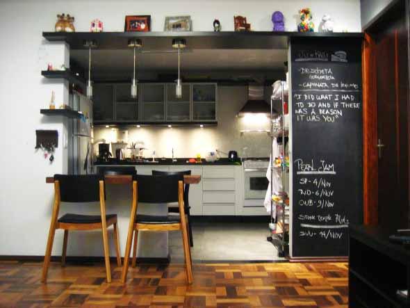 Decorar e renovar a cozinha com papel contact 012